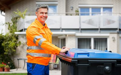 What is valet trash service?